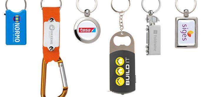 Schlüsselanhänger ein klasse Werbeartikel