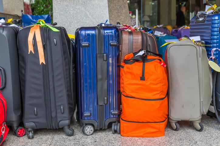 Trolleys als Reisegepäck