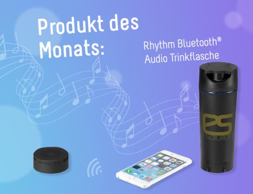 Produkt des Monats: Rhythm Bluetooth-Audioflasche