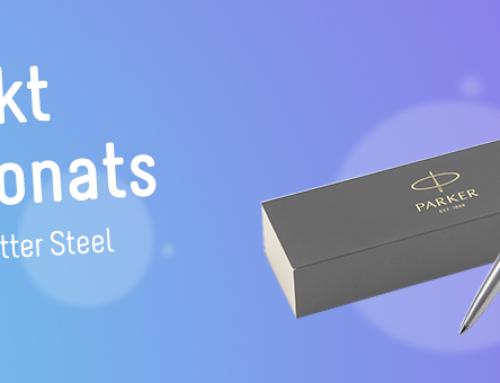 Produkt des Monats: Parker Jotter Steel Kugelschreiber