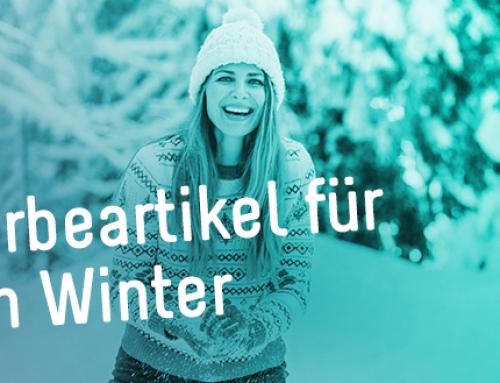 Top 10 Werbeartikel für den Winter
