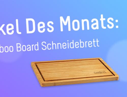 Artikel des Monats – Bamboo Board Schneidebrett